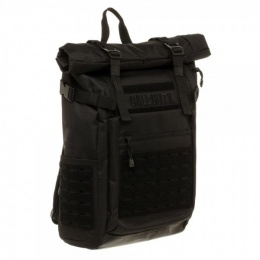 Bioworld Call of Duty Military Roll Top Backpack w/ Laser Cuts - Black