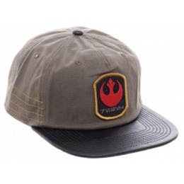 BioWorld Star Wars Rogue One Distressed Rebel Snapback - TAN