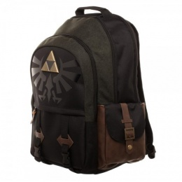 Bioworld Nintendo Zelda Link Medieval Backpack - BLACK/GREEN