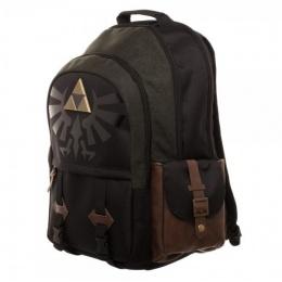 Bioworld Nintendo Zelda Link Medieval Backpack - BLACK/GREEN