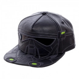 BioWorld Star Wars Rogue One Death Trooper PU Snapback - BLACK