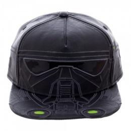 BioWorld Star Wars Rogue One Death Trooper PU Snapback - BLACK