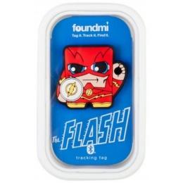 Foundmi DC Comics The Flash Bluetooth Tracking Tag - RED