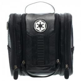 BioWorld Men's Star Wars Galactic Empire PU Dopp Kit - BLACK