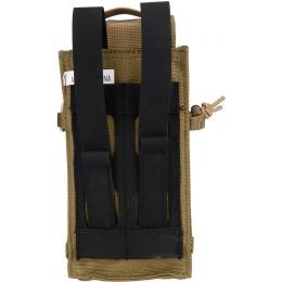 Code11 Tactical Cordura Polyester Triple Magazine Pouch - KHAKI