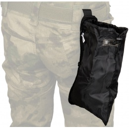 Code11 Cordura Polyester Pull Out Dump Pouch - BLACK
