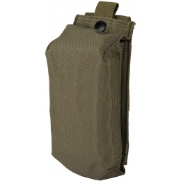 Code11 Tactical 12 gauge/M4 Cordura Magazine Pouch - OD GREEN