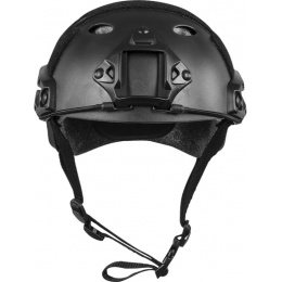 Valken ATH Tactical Polymer Airsoft Helmet w/ NVG Mount - BLACK
