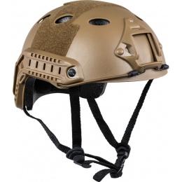 Valken ATH Polymer Airsoft Helmet w/ NVG Mount - DARK EARTH