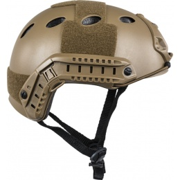 Valken ATH Polymer Airsoft Helmet w/ NVG Mount - DARK EARTH
