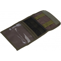 Code11 Cordura Forward Opening Admin Pouch - OLIVE DRAB GREEN