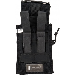 Code11 Tactical Cordura Polyester Double Magazine Pouch - BLACK