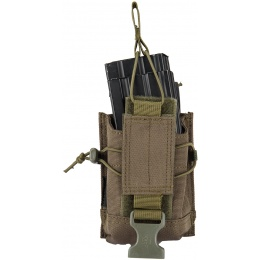 Code11 Tactical Cordura Polyester Double Magazine Pouch - OLIVE DRAB