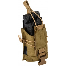 Code11 Tactical Cordura Polyester Double Magazine Pouch - COYOTE