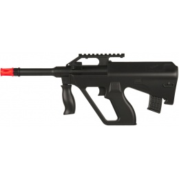 Double Eagle Spring Plastic Mini AUG Airsoft Rifle - BLACK