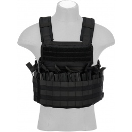 Code11 Tactical MOLLE Cordura Navigator Chest Rig - BLACK