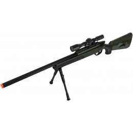 CYMA Airsoft MK51 Bolt Action Sniper Rifle w/ Scope - OLIVE DRAB