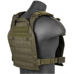 Lancer Tactical Nylon QR Lightweight Tactical Vest (OD Green)