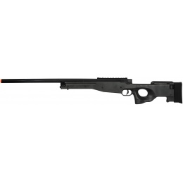 UK Arms L96 Spring Bolt Action Airsoft Sniper Rifle - BLACK