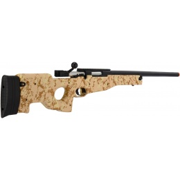 UK Arms L96 Spring Bolt Action Airsoft Sniper Rifle - CAMO