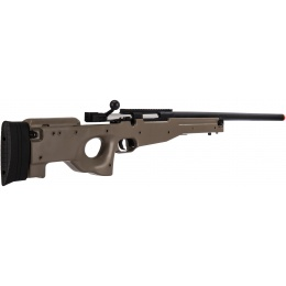 UK Arms L96 Spring Bolt Action Airsoft Sniper Rifle - TAN