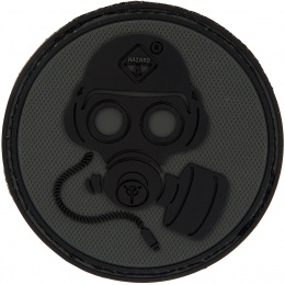 Hazard 4 TPR Special Forces Gas Mask Morale Patch - BLACK