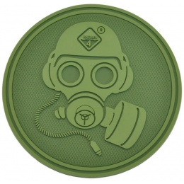 Hazard 4 TPR Special Forces Gas Mask Morale Patch - OD GREEN