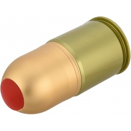 AMA Unicorn 40mm Airsoft Gas Grenade Cartridge - GREEN/BRONZE