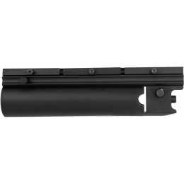 AMA X203 Airsoft 9-Inch Metal Rifle Grenade Launcher - BLACK