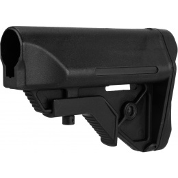 Big Dragon Tactical Polymer Stock w/ Nunchuck Battery Storage - BLACK