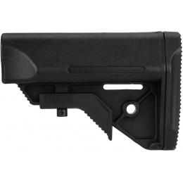 Big Dragon Tactical Polymer Stock w/ Nunchuck Battery Storage - BLACK