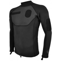 Hazard 4 High-Tech Neoprene Skin Diver I.D. Wet-Shirt - BLACK