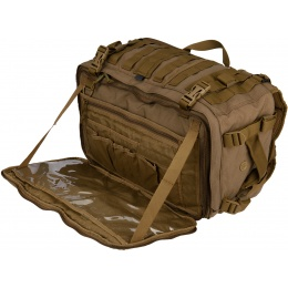 Hazard 4 Front and Rear Slim Organizer Officer Pack - COYOTE