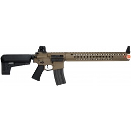 Krytac Airsoft Licensed War Sport LVOA-C M4 Carbine AEG - DARK EARTH