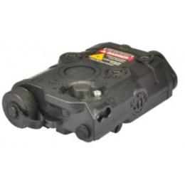 BattleAxe AN-PEQ-15 Style Red Laser and Flashlight - BLACK