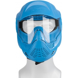 Valken MI-3 GOTCHA Single Goggles Face Mask w/ Top Strap - BLUE