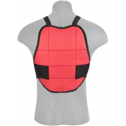 Valken Tactical GOTCHA Reversible Chest Protector - BLUE/RED
