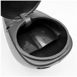 Valken GOTCHA 120rd Paintball Loader for Shotgun Marker - BLACK