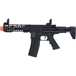 Valken PDW Alloy Series CQB Metal AEG Airsoft Rifle - BLACK
