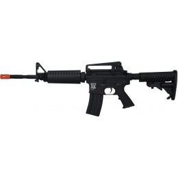 APS Kompetitor EBB AEG Airsoft M4A1 Carbine Rifle - BLACK