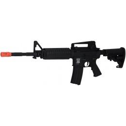 APS Kompetitor EBB AEG Airsoft M4A1 Carbine Rifle - BLACK