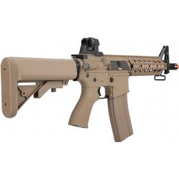 G&G Combat Machine CM16 Raider Short M4 CQB Airsoft AEG Rifle - TAN
