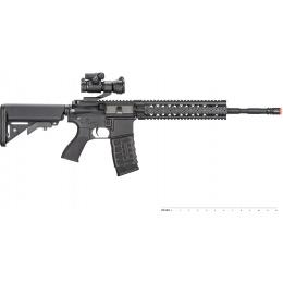 G&G Combat Machine R8-L AEG M4 Airsoft Rifle - BLACK
