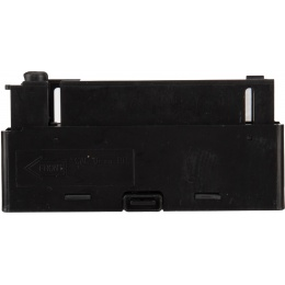 UK Arms 30rd Spring Magazine for M1196 Airsoft Sniper Rifle - BLACK