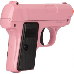 UK Arms Airsoft G1 Metal Spring Compact Pistol - PINK