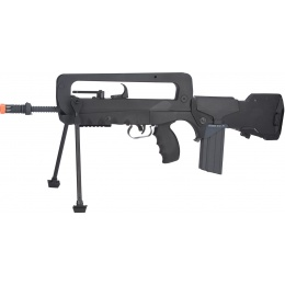 Cybergun Licensed FAMAS F1 EVO Airsoft AEG Rifle w/ MOSFET - BLACK