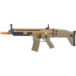 Cybergun FN Herstal SCAR-L AEG Metal Airsoft Rifle - TAN