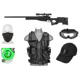 AMS Scout Tactical Package: LT Vest + MK96 Sniper + Essentials