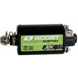 ASG Ultimate CNC Upgrade Short Motor Boost 30K Custom - BLACK