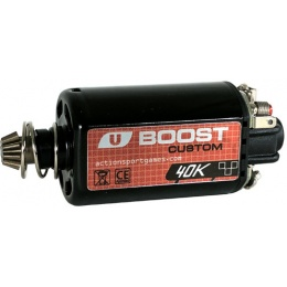 ASG Ultimate CNC Upgrade Short Motor Boost 40K Custom - BLACK
